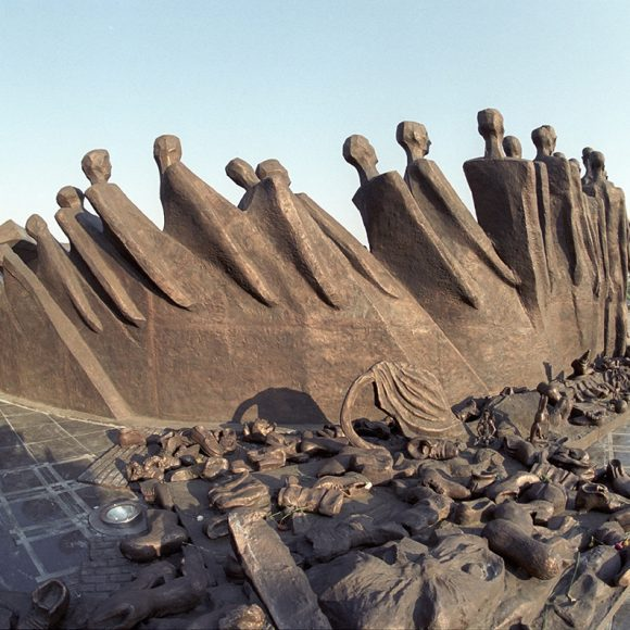The Tragedy of the People monument on Poklonnaya Hill – Moscow, Russia – 1997