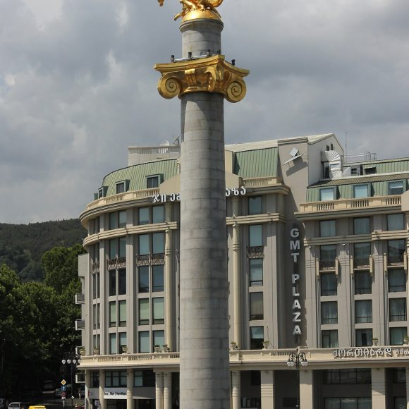 Monument of St. George the Victorious on the Freedom Square – Tbilisi, Georgia – 2005