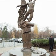 Unveiling of the Monument to Rudolf Nureyev in Kazan