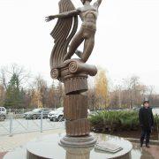 Unveiling of the Monument to Rudolf Nureyev in Kazan