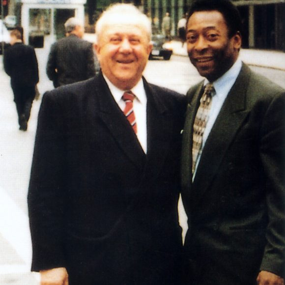 With Pelé New York. 2000s