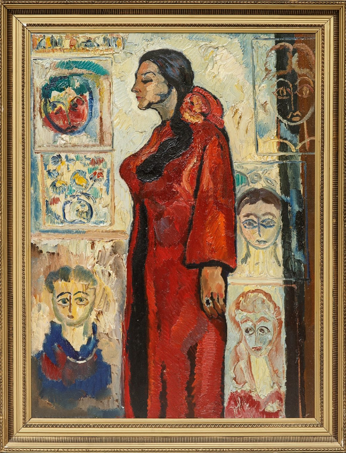 Inessa among Her Children – 1987