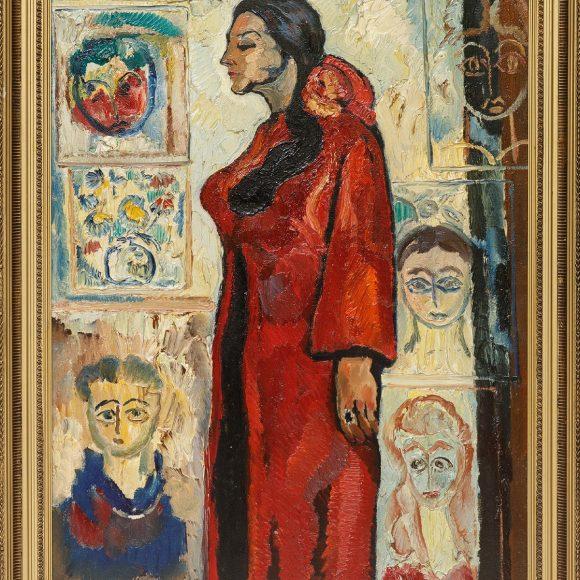 Inessa among Her Children – 1987