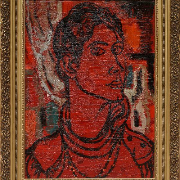 Portrait of Lyuda – 1992